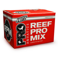 FritzPRO R.P.M. Redline HIGH ALK Salt Mix RED Box (55 lbs) - Fritz Aquatics