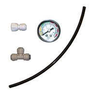 "RO Pressure Gauge Kit - 1/4"" push fittings (PGK-4) - Spectrapure"