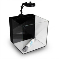 10 Gallon Cube W/Kessil A80 Tuna Blue & Mini Gooseneck - Waterbox