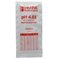 pH 4.01 Calibration Buffer 20 ml (Single Pack) - Hanna Instruments