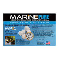 MarinePure High Performance Biofilter Media MP2C (1 Cubic Foot) - Cermedia