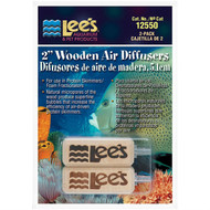 Wooden Air Diffuser 2 Inch (2 Pack) - Lees