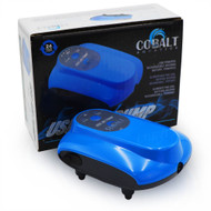 DC USB Air Pump - 1 Outlet Battery Backup - Cobalt