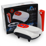 Rescue Air Pump Kit USB - 1 Outlet Battery Backup w/Power Pack - Cobalt