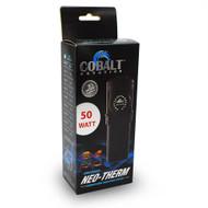 """Neo-Therm Super Flat 50 Watt Heater 6.5"""" - 12 Gallon - Cobalt"""