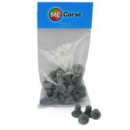 "3/4"" Grey Round Frag Plugs (25ct) - MECoral"