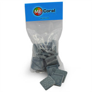 "1 1/4"" Grey Square Frag Plugs (15ct) - MECoral"