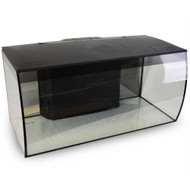 FLEX Aquarium Kit, 123 L (32.5 US Gal), Black - Fluval