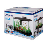 "20 Gallon High LED Beginner Aquarium Kit (24"" x 13"" x 17"") - Aqueon"