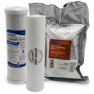 4 Stage RO/DI Replacement 0.5 Micron Filter Kit