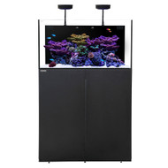 AIO 50.3 Aquarium w/Black Stand +PLUS w/ AI Prime & Black Flex Mount - Waterbox