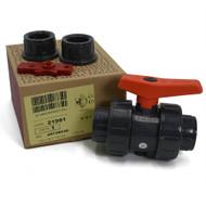 "1"" Socket/Thread Combo True Union Ball Valves - Cepex"