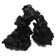 Real Reef (BLACKOUT) Rock (55 lb) Box - Mixed Size - Real Reef
