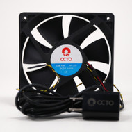 "4"" USB Smart Aquarium Fan (AF120) - Reef Octopus"