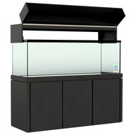 "72"" MEGA Matrix Black (180 Gallon) Aquarium - Planet Aquariums"