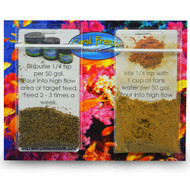 Coral Frenzy Powder & Pellet Sample Coral Food w/Probiotics