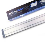 """48"""" StingRAY 2 Silver Aquarium LED - Finnex"""