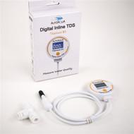 Titanium S1 Digital Inline TDS Meter - AutoAqua