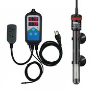 Thermocontrol-E Dual Thermostat (75 Watt) Aquarium Heater Kit - EHEIM Inkbird