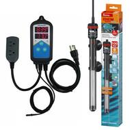 Thermocontrol-E Dual Thermostat (100 Watt) Aquarium Heater Kit - EHEIM Inkbird