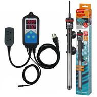 Thermocontrol-E Dual Thermostat (150 Watt) Aquarium Heater Kit - EHEIM Inkbird