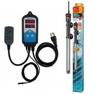 Thermocontrol-E Dual Thermostat (200 Watt) Aquarium Heater Kit - EHEIM Inkbird