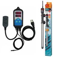 Thermocontrol-E Dual Thermostat (250 Watt) Aquarium Heater Kit - EHEIM Inkbird