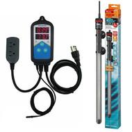 Thermocontrol-E Dual Thermostat (300 Watt) Aquarium Heater Kit - EHEIM Inkbird