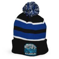 SaltwaterAquarium.com Embroidered Winter Beanie Hat