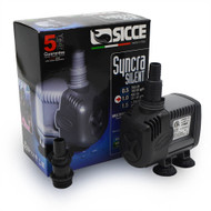 "Syncra ""Silent"" Pump Model 1.0 (251 gph) 5 ft. Head - Sicce"