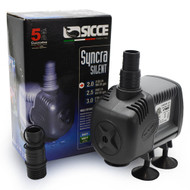 "Syncra ""Silent"" Pump Model 2.0 (568 gph) 7.9 ft. Head - Sicce"