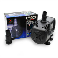 "Syncra ""Silent"" Pump Model 3.5 (660 gph) 12.5 ft. Head - Sicce"