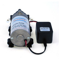 Puratek 100 GPD RODI Booster Pump w/Power Supply - Vertex Aquaristik