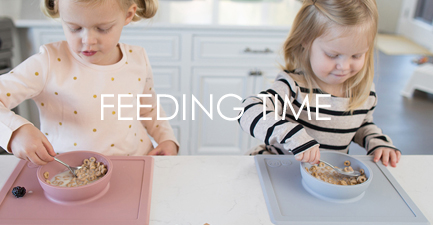 Baby Toddler Feeding Time