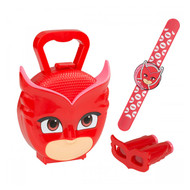 PJ Masks Carry Case, Snap band, Binoculars - Owlette Set