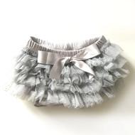 ESKids Baby Ruffle Bloomers | Grey