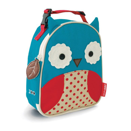 Skip Hop Owl Zoo Kids Insulated Lunchie Bag