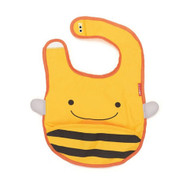 Skip Hop Bee Zoo Fold Away Bib