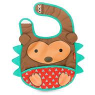 Skip Hop Hedgehog Zoo Fold Away Bib