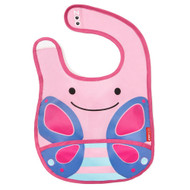Skip Hop Butterfly Zoo Fold Away Bib