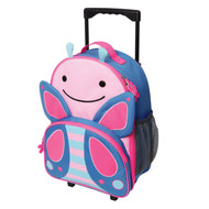 Skip Hop Butterfly Rolling Luggage Online