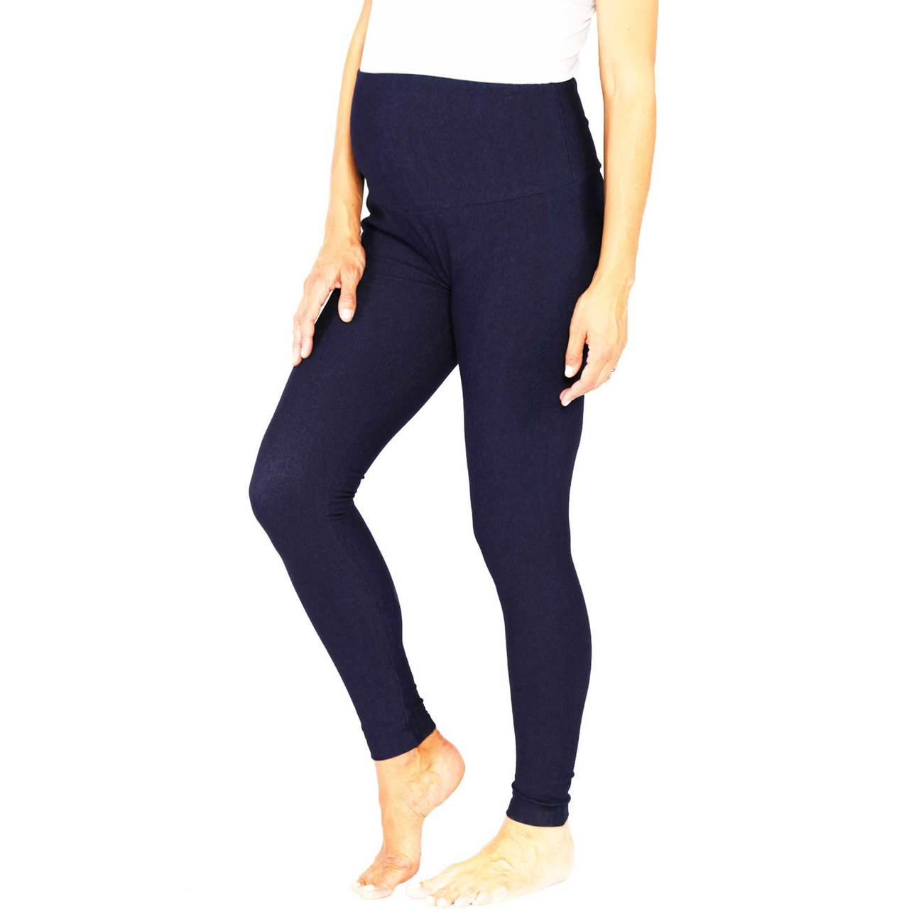 f886d28c558 Angel Maternity High Waisted Navy Denim Jeggings - Buy Pregnancy Pants