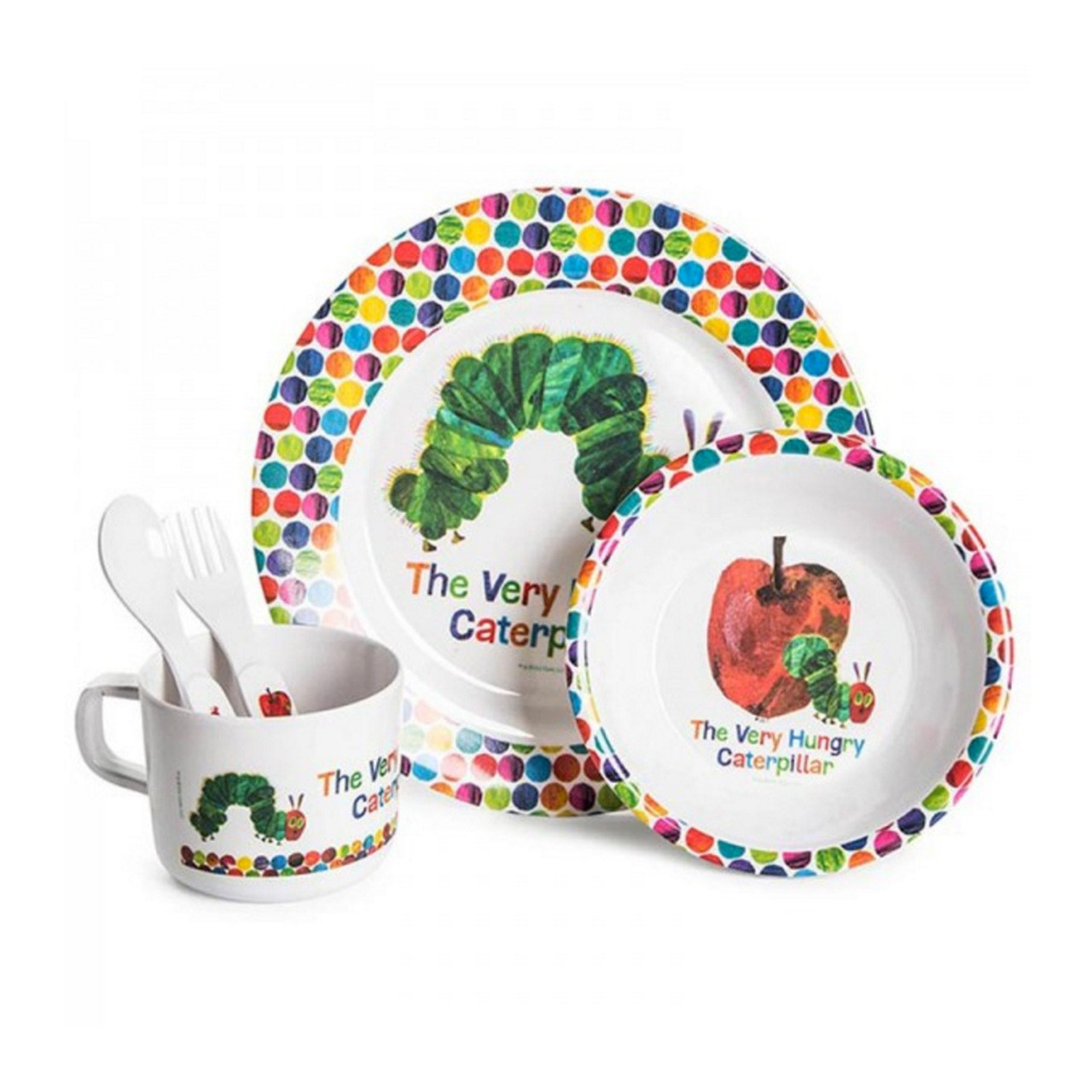 The Very Hungry Caterpillar 5 Piece Dinner Set Buy Cute Toddler