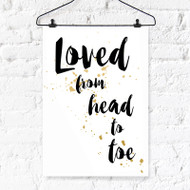 Loved From... Digital Printable Wall Art Decor