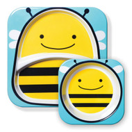 Skip Hop Bee Zoo Plate & Bowl Set