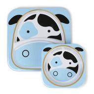 Skip Hop Zoo Plate & Bowl Set - Cow