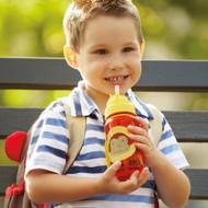 Skip Hop Monkey Kids Straw Bottle