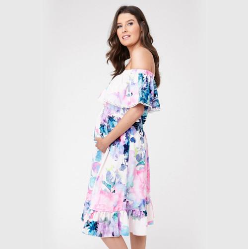 Ripe Maternity Gemma Watercolour Dress