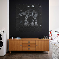 IXXI Star Wars Galaxy Wall Art - Home Decor