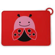 Skip Hop Ladybug Fold & Go Silicone Placemat